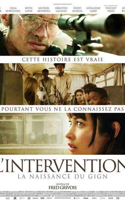 L'intervention la naissance du GIGN : l'affiche salle du film