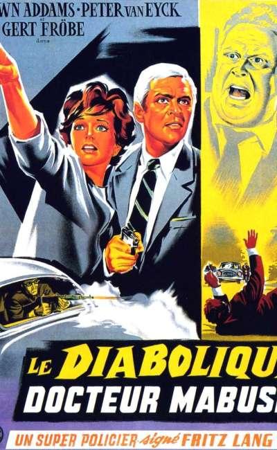 Le diabolique docteur Mabuse, l'affiche