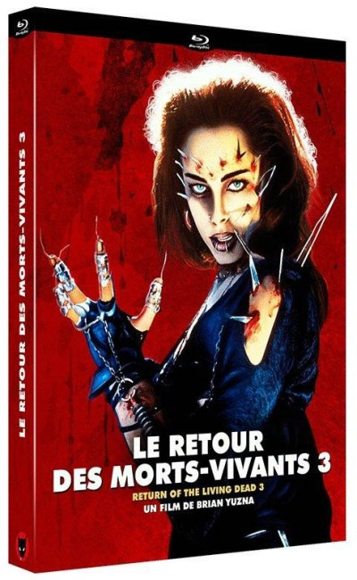 Le retour des morts-vivants 3 : la critique du film et le test blu-ray
