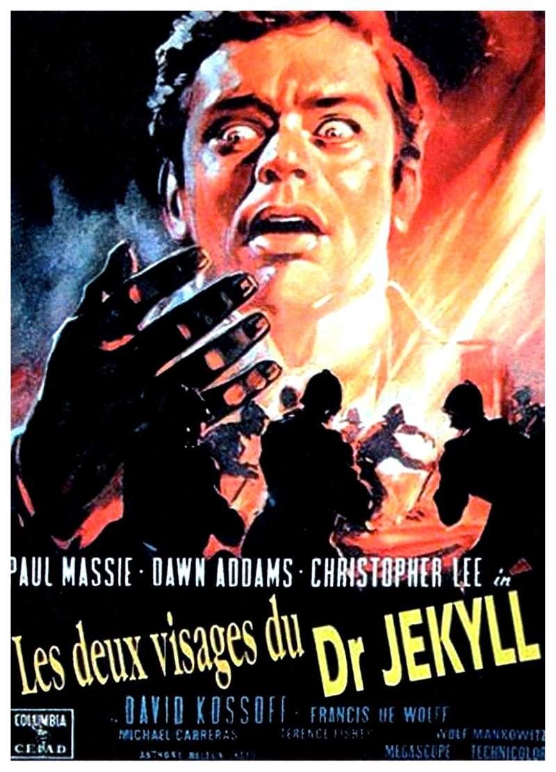 Les deux visages du dr Jekyll, l'affiche
