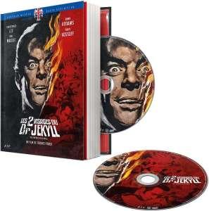 Les deux visages du Dr Jekyll, jaquette du Mediabook