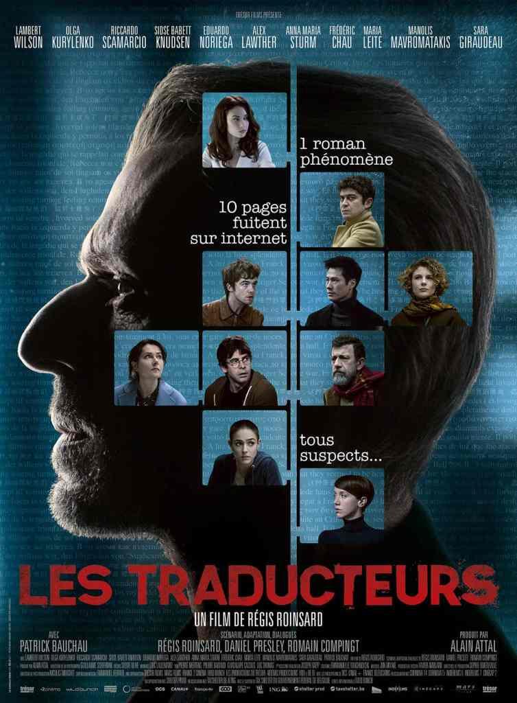 Les Traducteurs, l'affiche du film de Régis Roinsard