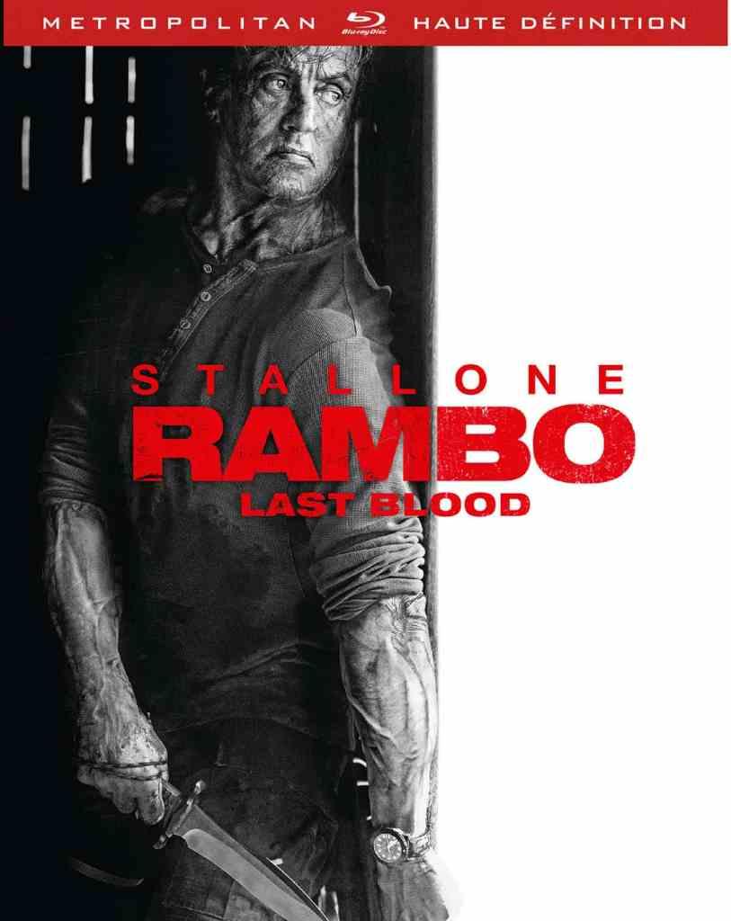 Rambo : last blood jaquette steel book