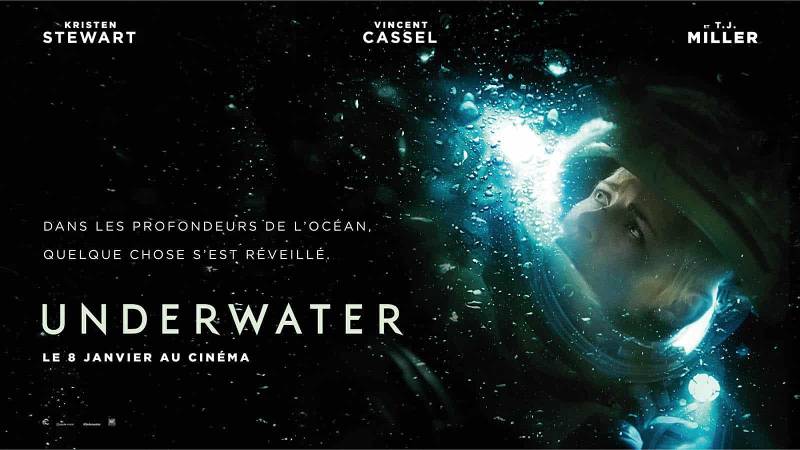 Underwater, thriller sous-marin avec Kristen Stewart