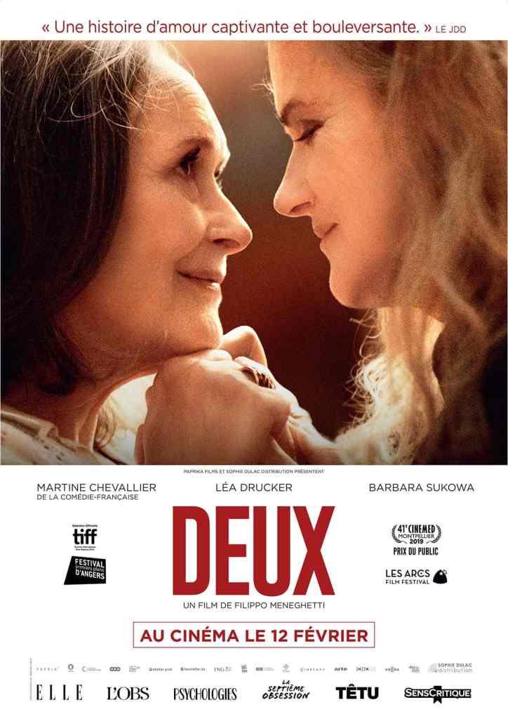 Deux (2020) affiche du film avec Barbara Sukowa