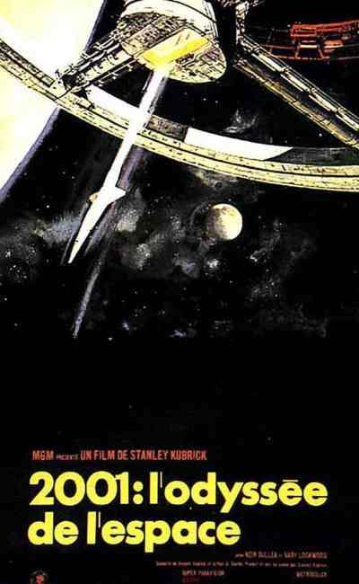 Affiche originale de 2001 : l'odyssée de l'espace