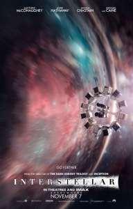 Affiche alternative Imax d'Interstellar