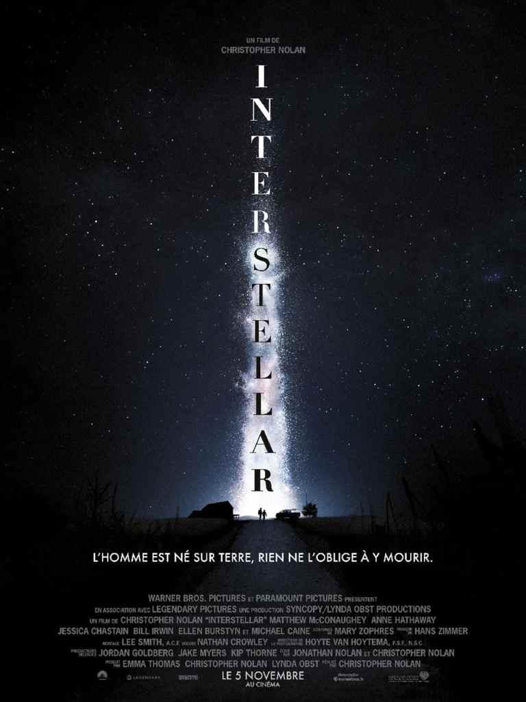 Teaser d'Interstellar de Christopher Nolan