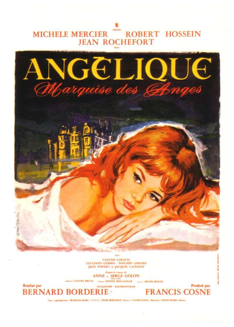 Angélique, marquise des anges, l'affiche
