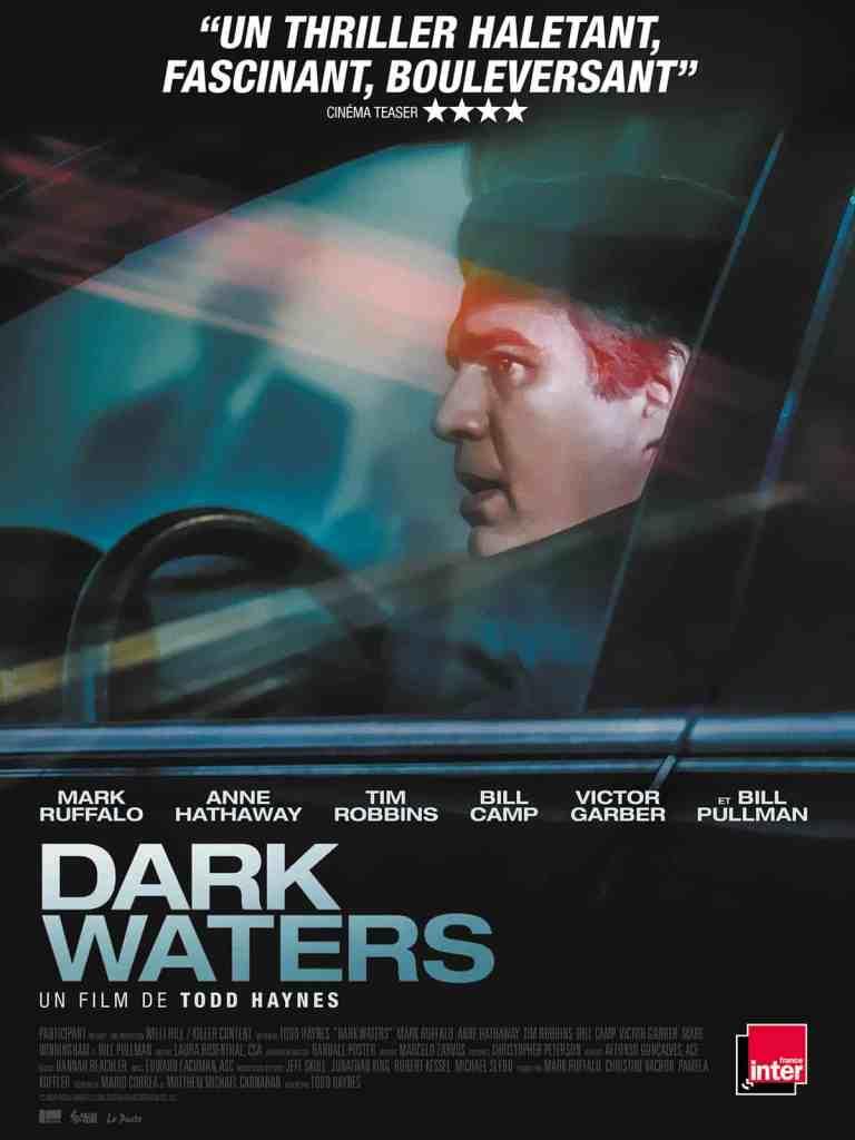 Dark Waters : l'affiche avec partenaires du film de Todd Haynes