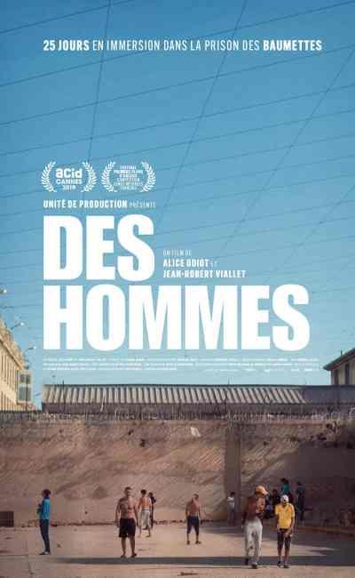 Des Hommes, affiche du film de Jean Robert Viallet