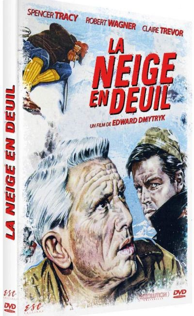 La Neige en deuil, dvd