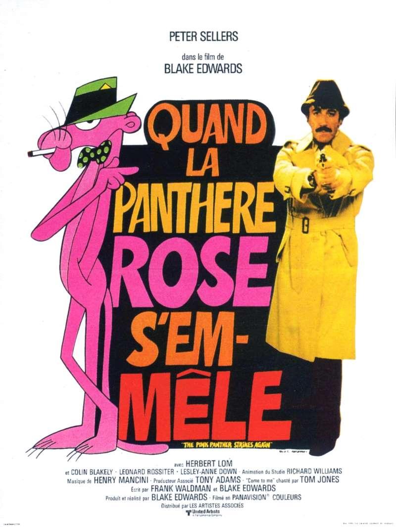 Quand la panthère rose s'emmêle, l'affiche
