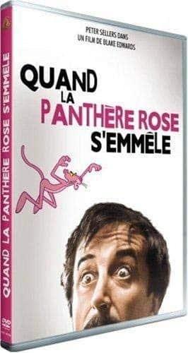 Quand la panthère rose s'emmêle, la jaquette du DVD
