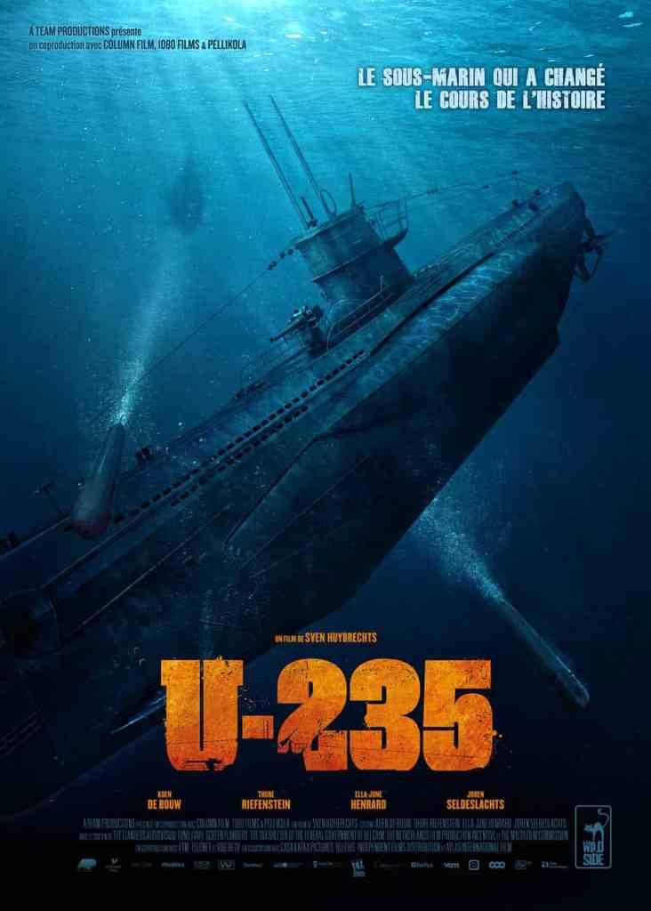 U-235 : jaquette du film de sous-marin