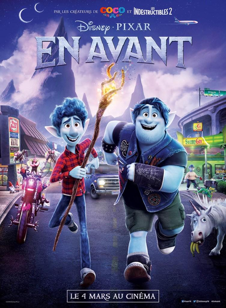 en-avant (onward) : Affiche francaise