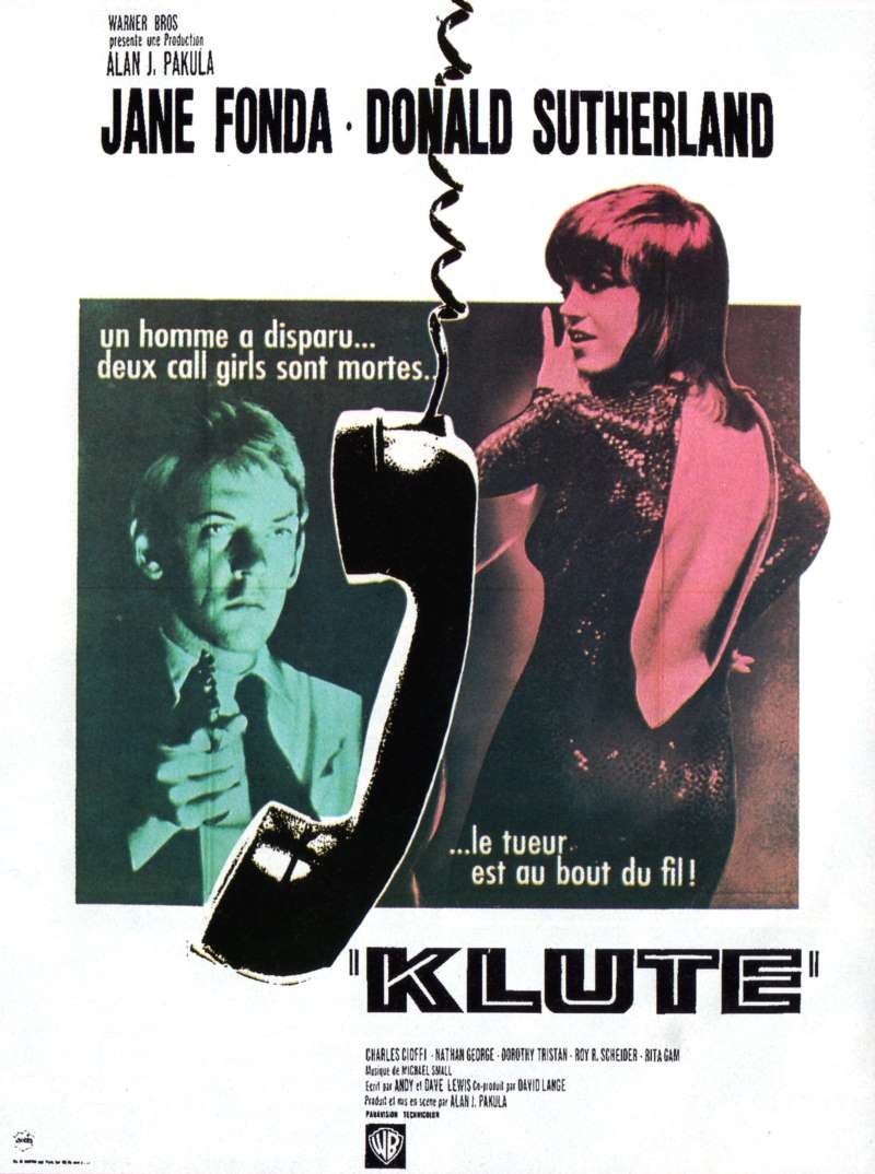 Klute, l'affiche