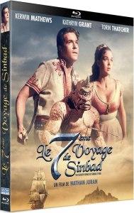 Le septième voyage de Sinbad, la jaquette du blu-ray