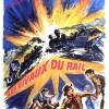 Les rivaux du rail : affiche du western