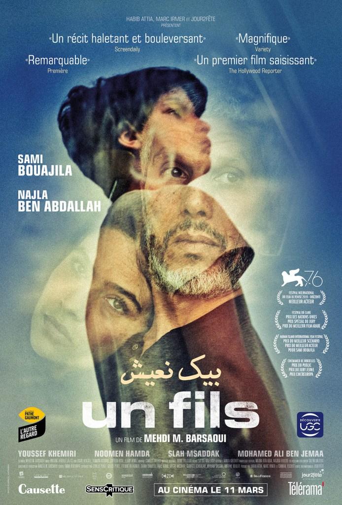Un fils affiche du film avec Sami Bouajila