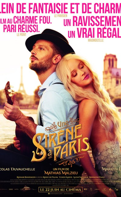 Une sirène à Paris, affiche reprise 22 juin 2020