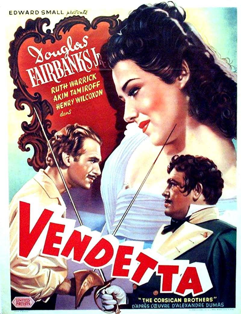 Vendetta, l'affiche du film de 1941