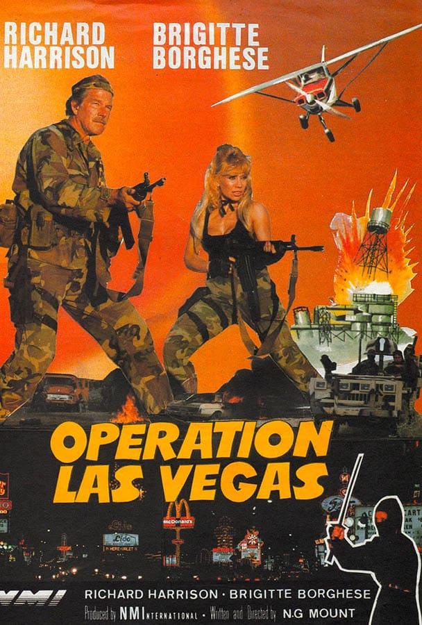 Opération Las Vegas de Norbert Moutier, avec Brigitte Borghese