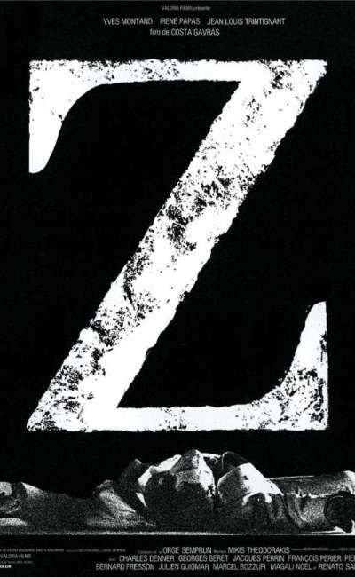 Z, l'affiche du Costa-Gavras
