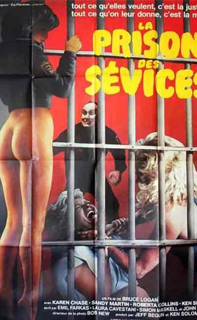 La prison des sévices, affiche cinéma de vendetta de Bruce Logan