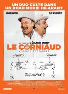 Le corniaud, affiche de la reprise de 2016
