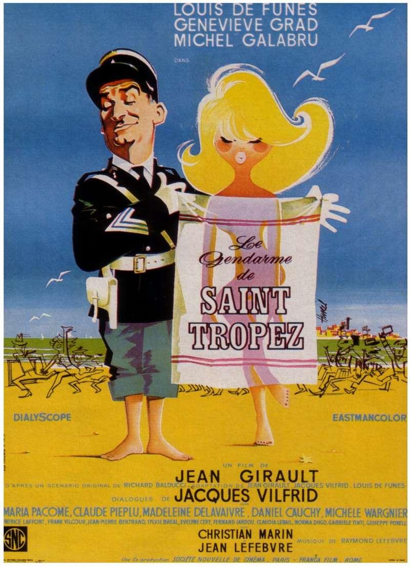 Le gendarme de Saint-Tropez, l'affiche