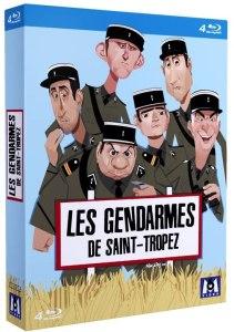 Le gendarme de Saint-Tropez, la jaquette du coffret blu-ray