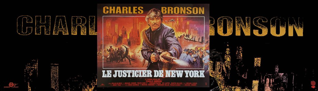 Death Wish 3, le justicier de New York, affiche et poster de Jean Mascii, rare