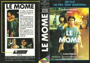 Le môme, la jaquette VHS