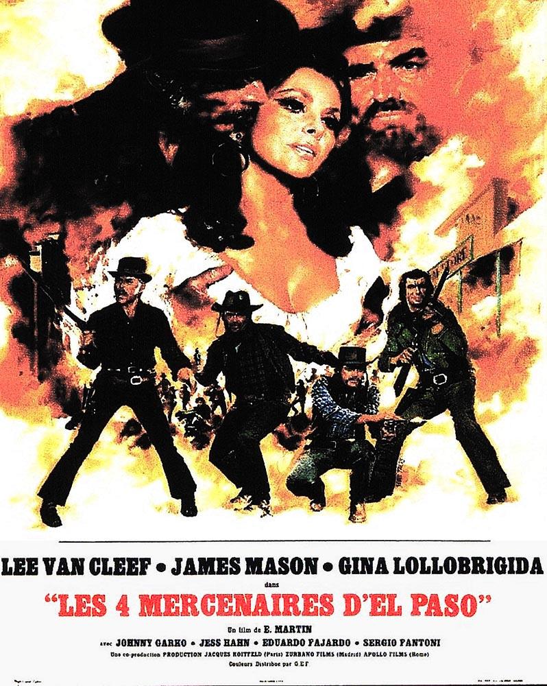 Les 4 mercenaires d'El Paso : affiche