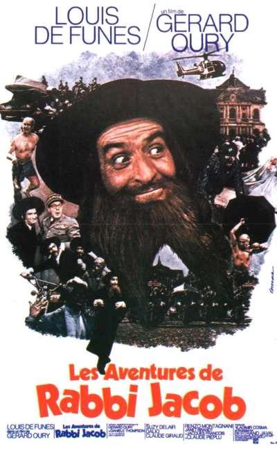 Les aventures de Rabbi Jacob, l'affiche