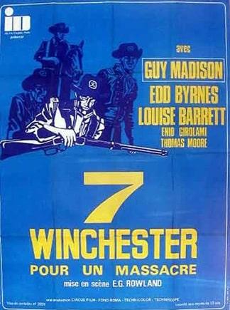sept winchester pour un massacre affiche