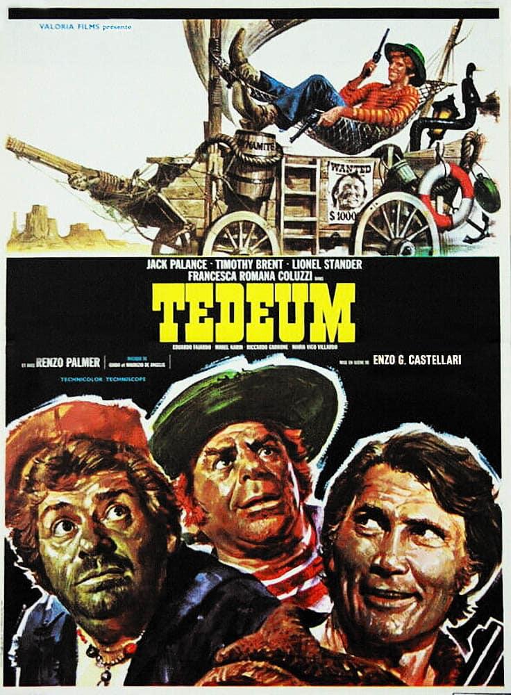Tedeum, , affiche film de Castellari