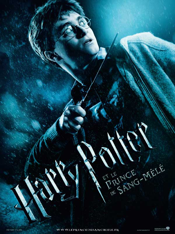 Harry Potter et le prince de sang-mêlé, affiche teaser, Daniel Radcliffe