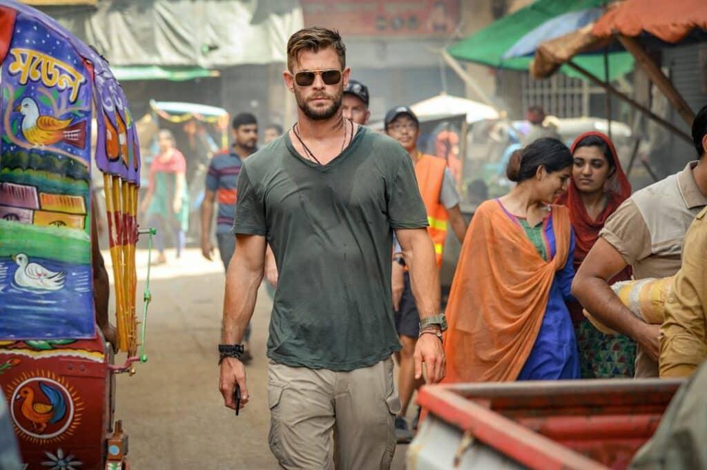 Tyler Rake (Extraction) : Chris Hemsworth se la joue