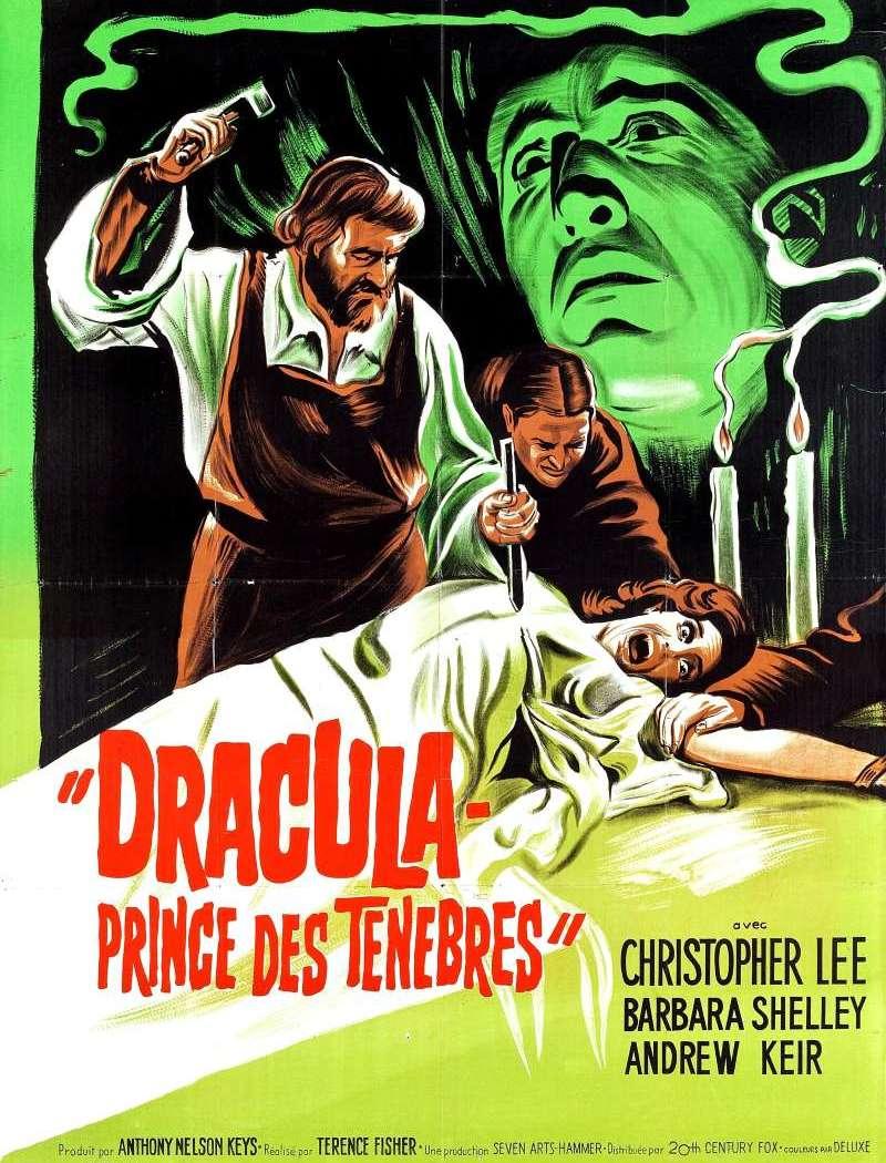 Dracula, prince des ténèbres, l'affiche
