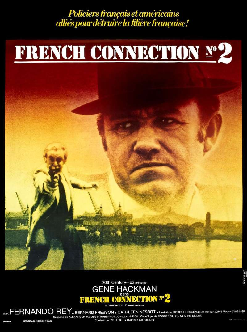 French Connection 2, l'affiche