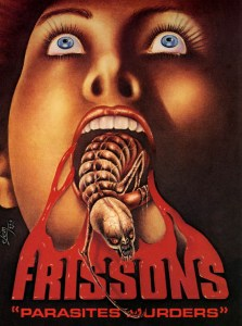 Frissons, la jaquette VHS de Melki