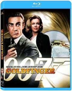 Goldfinger, la jaquette blu-ray
