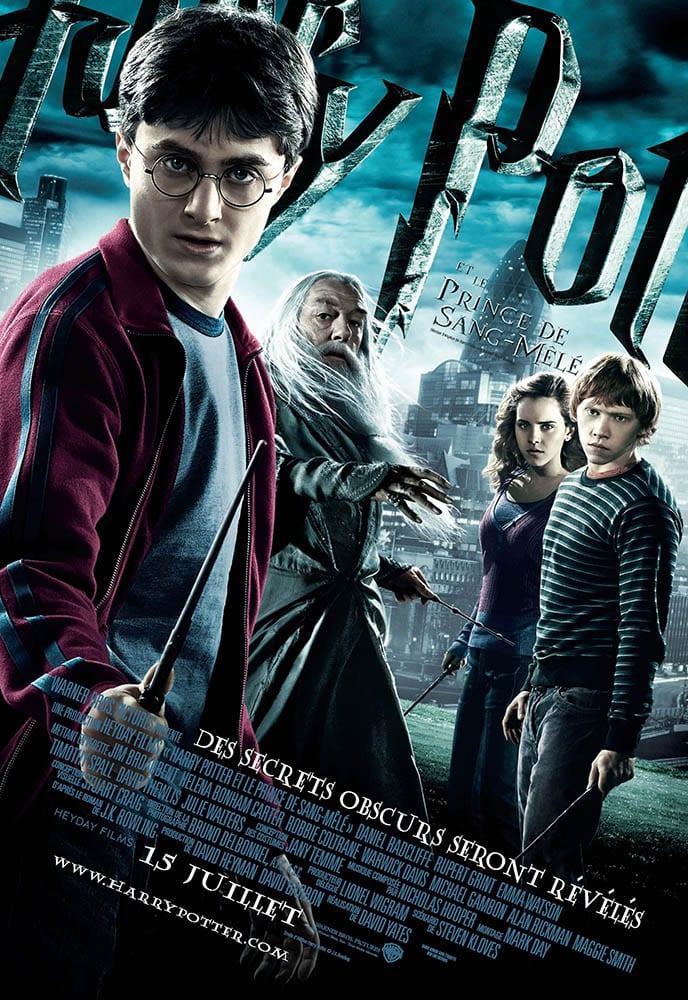 Harry Potter et le prince de sang-mêlé affiche originale