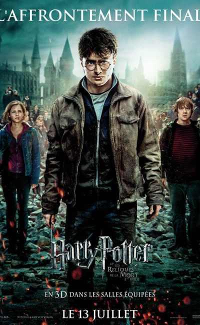 Harry Potter et les reliques de la mort partie 2, l'affiche du film