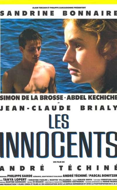 Les innocents, l'affiche du Téchiné
