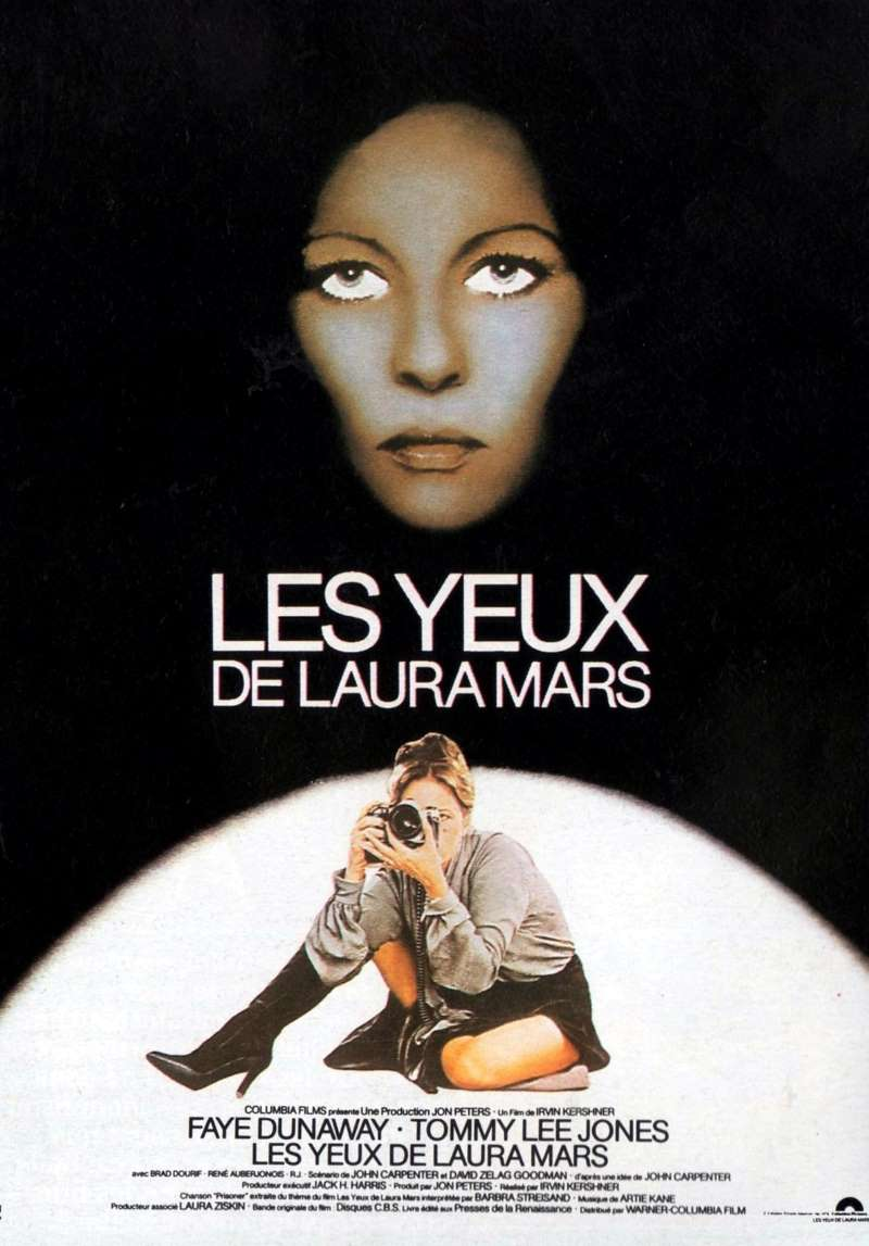 Les yeux de Laura Mars, l'affiche