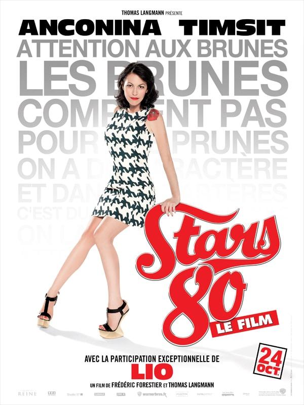 Stars 80 le film, affiche personnage de Lio