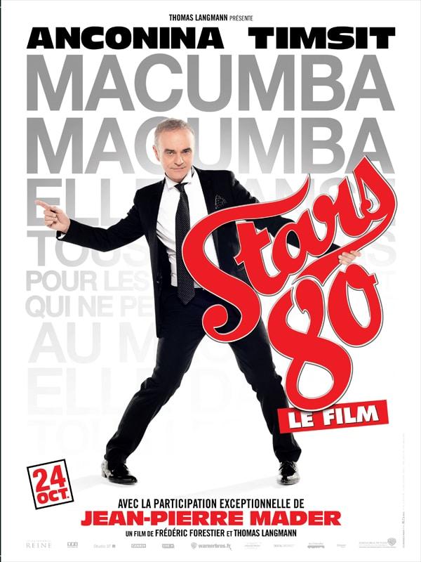 Stars 80 le film, affiche personnage de Jean-Pierre Mader